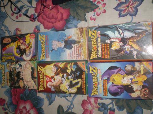 Peliculas Dragon Ball Z  Cada Una Con Su Revista
