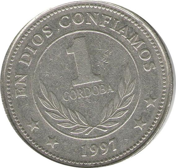 Moneda 1 Cordoba De Nicaragua Año 1997