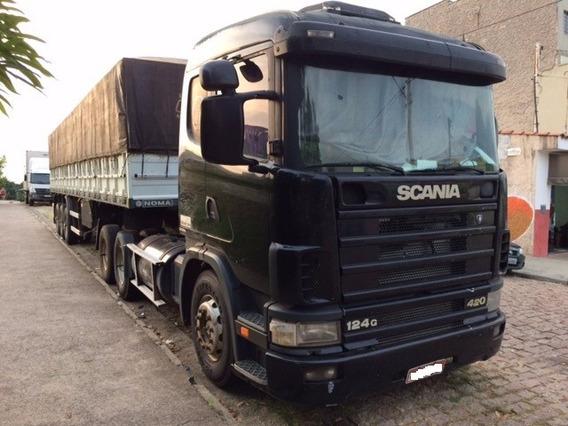 Scania R124 Ga 420 6x2 Nz (trucado) 2001