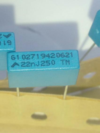20pcs Capacitor Poliester Metalizado 22nf 250v. 5¿
