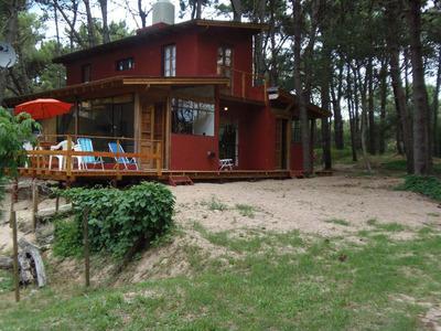 Casa En Bosque Mar Azul Para 4/5 Personas