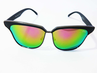 Oculos De Sol Feminino Lente Rose Espelhado