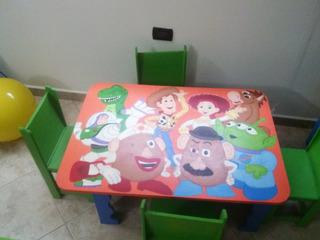 Juego De Cuarto Para Niños Toys Store 3 Piezas