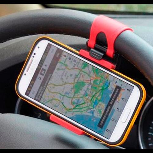 Soporte De Celular Para El Volante Del Auto Apertura 8.5cm ®