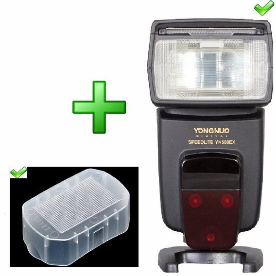 Yongnuo Flash Yn 568ex Iii Vers 3 Canon Ttl + Difusor Infra