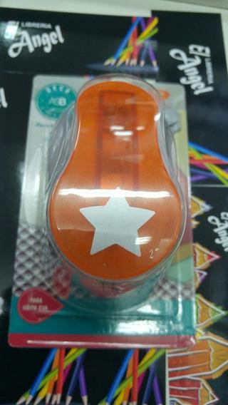 Troquelador Sacabocado Forma Estrella P/ Goma Eva Papel 5cm