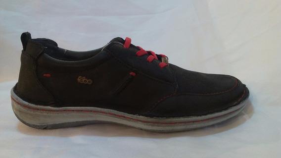 Zapato Cuero Hombre Combinada Art 832. Marca Febo