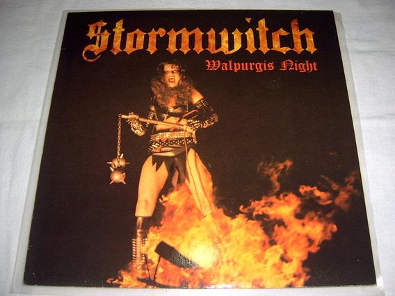 Lp Stormwitch - Walpurgis Night 1st Press 84 Heavy Power Mtl