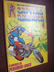 Almanaque Do Capitão America N 64 De 1984