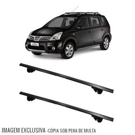 Rack Travessa Livina X-gear 2009 A 2014 Eqmax 6180 Preto