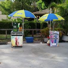 Alquiler Inflable Raspados Perros Calientes Algodon Cachapa