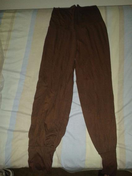 Pantalon Babucha Marron! Como Nuevo!!