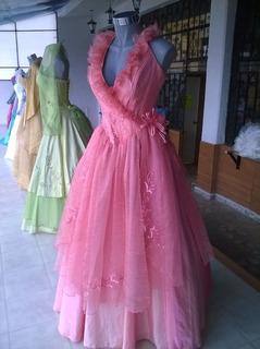 Vestido De Quince Años Durazno (nuevo)