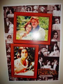 Poster Novela Escrava Isaura Lucélia Santos Telenovela Tv