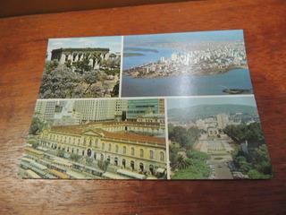 Cartão Postal Antigo Porto Alegre Parque Farroupilha