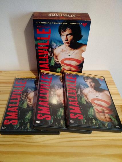 Dvd Smallville Original - 1ª, 2ª, 3ª E 4ª Temporadas