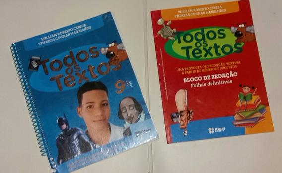 Livro Todos Os Textos 9° Ano