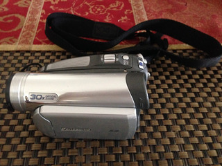Vídeo Cámara Panasonic Pv-gs59 Zoom Óptico 30x Muy Buena