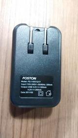 Carregador De Bateria Camera Digital Foston Fs-119t/121t
