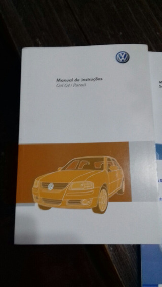 Manual Volkswagen Gol E Parati G4 2011 2012