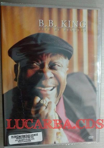 Dvd B.b King - Live By Request Lacrado