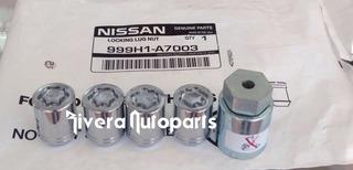 Tuercas Seguridad Nissan Original Versa Tsuru 999h1a7003