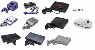 Modificaciones Rca - Video Compuesto-sega,nintendo,psone,ps2