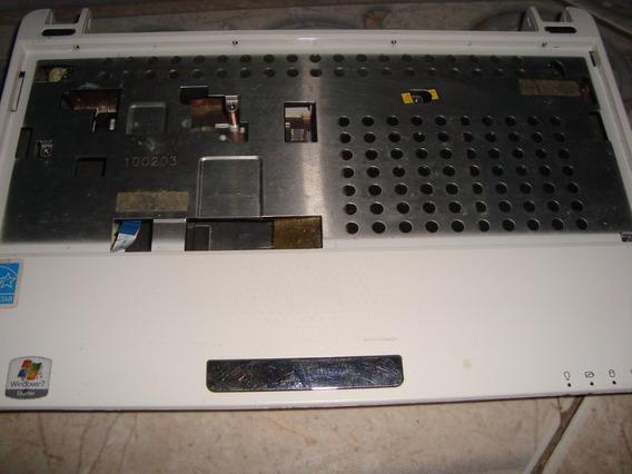 Carcaça Inferior E Superior Netbook Asus Eee Pc1005p Branca