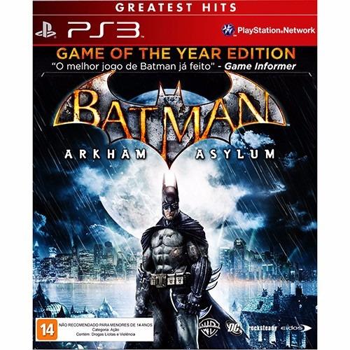 Batman Arkaham Asylum Ps3