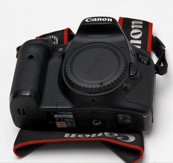 Câmera Canon 7d Só O Corpo!!!