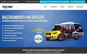 Site Para Empresas De Rastreamento E Monitoramento Veicular