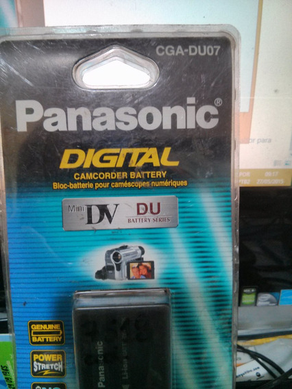 Bateria Du07 A/1b P/ Filmadora Panasonic Mini-dv Gs50 Gs70