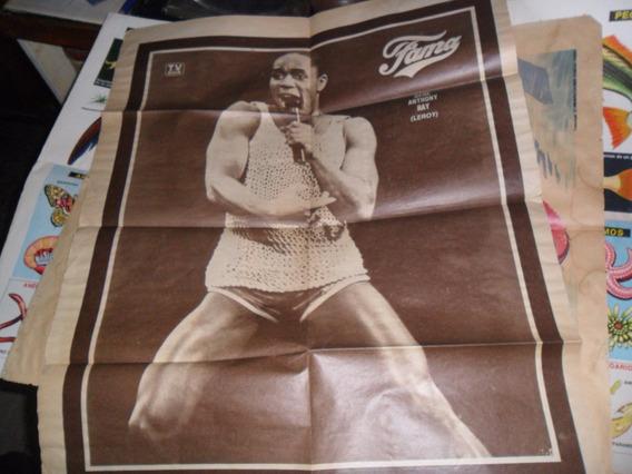 Gran Poster Tv Guia Fama Gene Anthony Ray Leroy