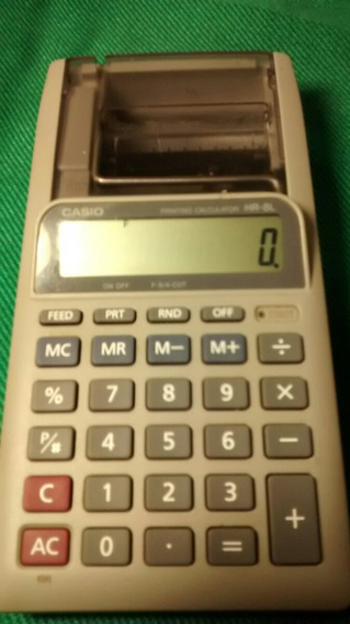 Calculadora Casio Printing Hr8l