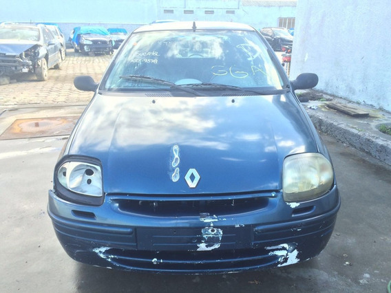 Sucata Renault Clio 1.0 8v 2000 2001 2002 Peças