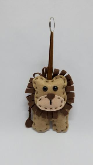 Lembrancinhas Aniversário Tema Safari Leão (10cm) 50un