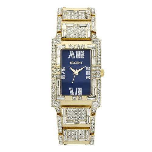 Para Fg1016b Brillo Reloj Con Elgin Hombre l3TJFK1c