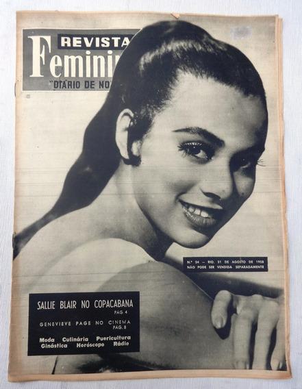 Revista Feminina Nº 34: Sallie Blair - Adalgisa Colombo 1958