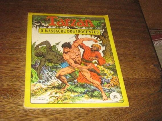 Tarzan O Massacre Dos Inocentes Formato Album Ebal 1980