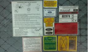 Manual Ford Maverick Motores 6cil 4cil Emblema Gt V8 302