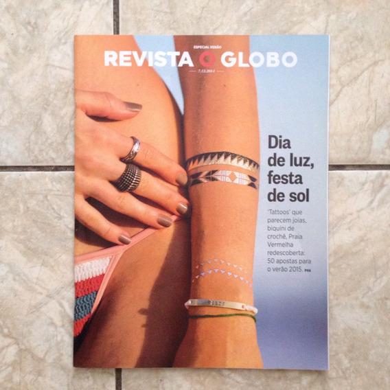 Revista O Globo 7.12.2014 Dia De Luz Festa De Sol Crochê Pra