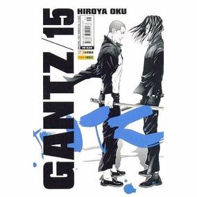 Gantz 15 Editora Panini 228 Páginas Frete R$ 6,00 Março 2008