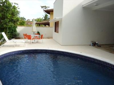 Ref.: 206 - Casa Condomínio Fechado Em Bertioga, No Bairro Guaratuba Costa Do Sol - 4 Dormitórios