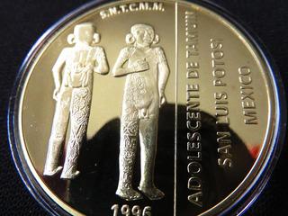 Medalla Casa De Moneda Adolecente Tamuin & Eppens