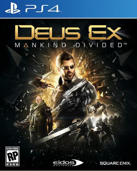 Deus Ex : Mankind Divided Ps4 Mídia Fìsica