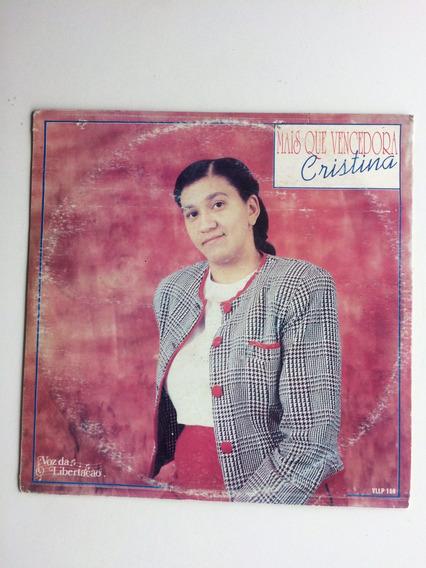 Lp Cristina Mais Que Vencedora