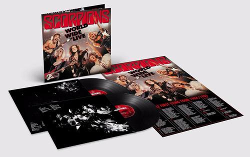 Imagem 1 de 3 de Scorpions - World Wide Live / Black 2-lp + Cd+ Poster Tour