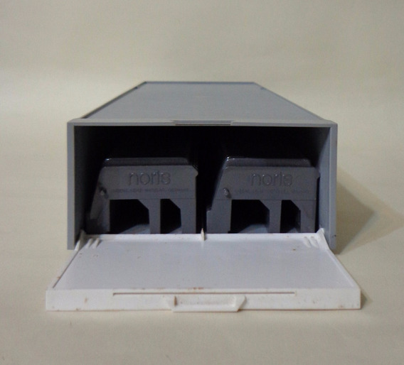 Leitz-weztlar - Box C/2 Magazines P/ 50 Slides 35 Mm
