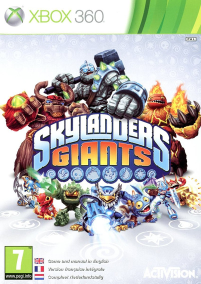 Skylanders Giants Somente Disco - Xbox 360 - Pronta Entrega