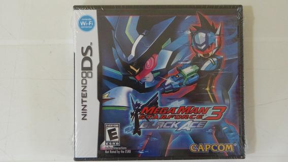 Megaman Starforce 3 Black Ace - Nds - Lacrado!